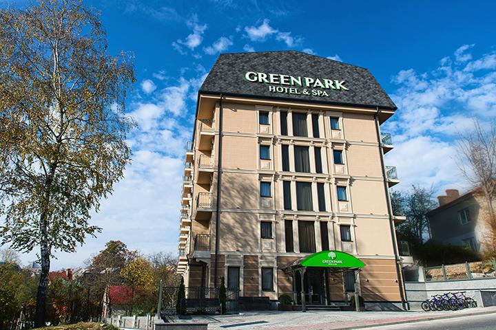 Отель Green Park в Трускавце